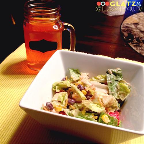 BBQ Chicken Salad | Glatz & Glamour