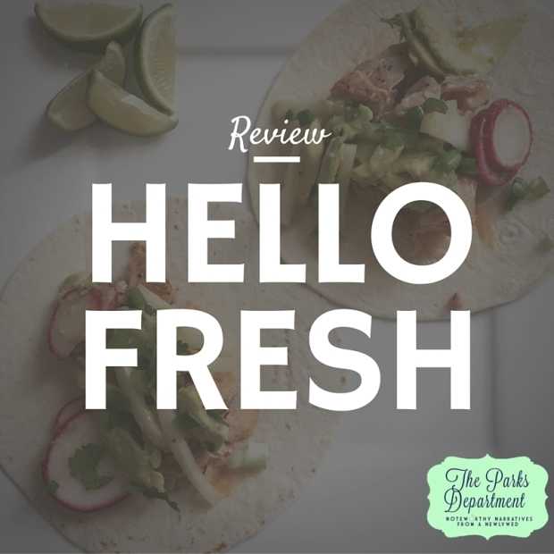 Review hellofresh meal delivery service the parks department